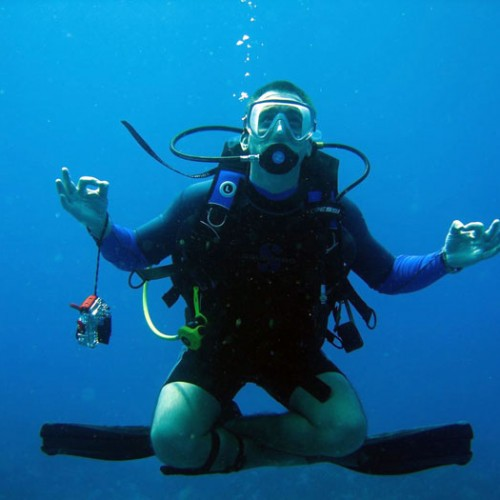 how to become a padi diver