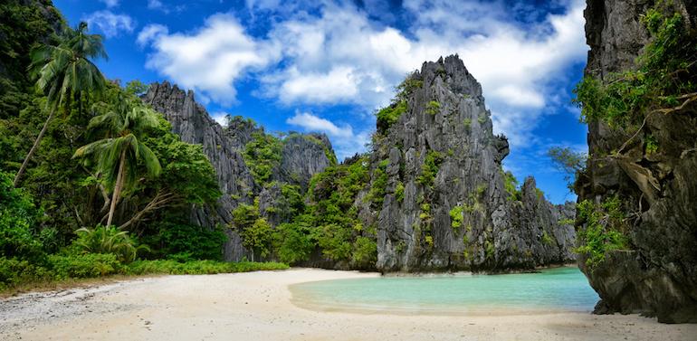 A Deserted Island in El Nido, Palawan