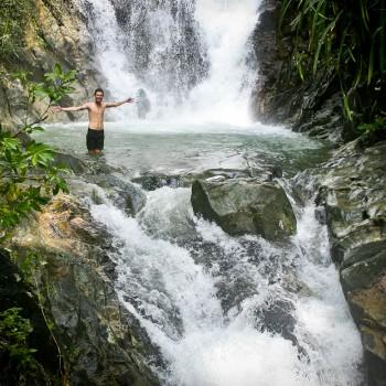 El Nido Tour E - Inland Tour: Beaches & Waterfalls