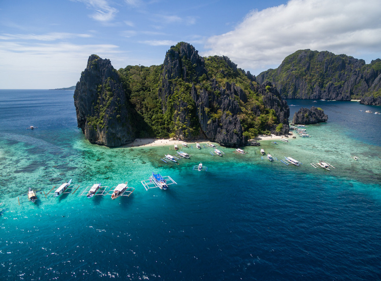 The Best of Island Hopping with El Nido Tours A, B and C