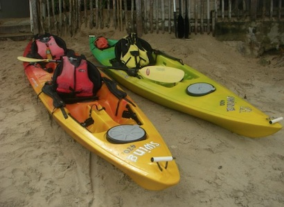 Where to rent a kayak in El Nido, Palawan?