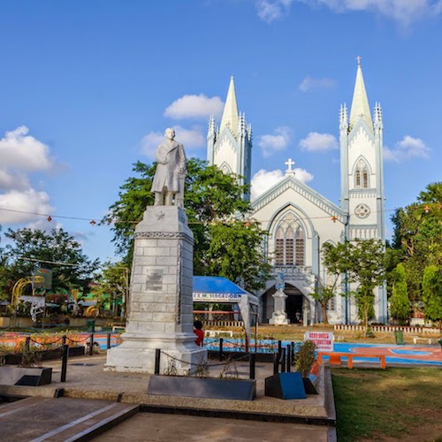 The Cathedral on Plaza Cuartel - City Tour in Puerto Princesa