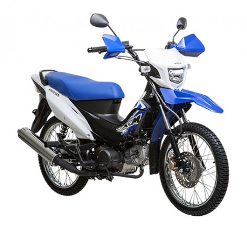 Rent a semi-automatic motorbike Honda XRM 125 in El Nido