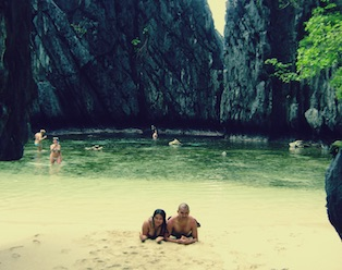 Secret Beach - Island Hopping El Nido Tour C