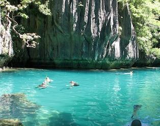 Small Lagoon - Island Hopping Tour A - El Nido