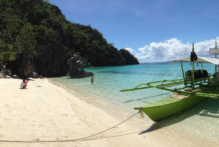 Smith Beach in Coron, Busuanga, Palawan
