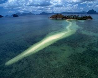Snake Island - Island Hopping Tour B - El Nido