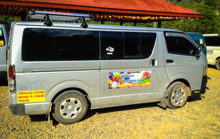Travel with a Van From Puerto Princesa to El NidoTravel with a Van From Puerto Princesa to El Nido
